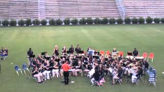 "BMMS Band - ""Comet Ride"""