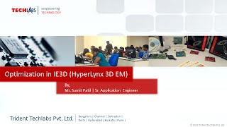 Optimization in IE3D (Hyperlynx 3D EM), By: Sumit Patil