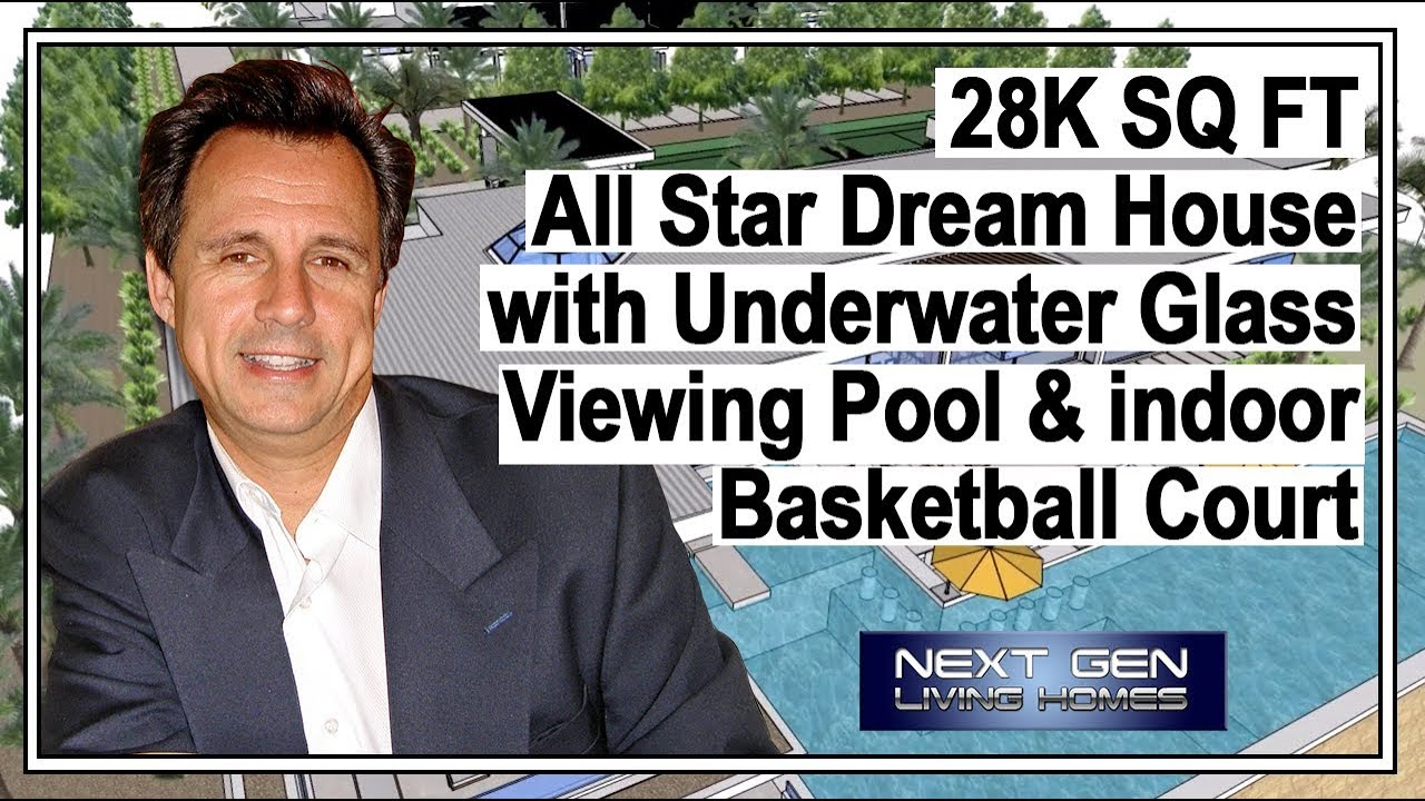 maxresdefault all star dream house with indoor basketball court youtube,Home Plans With Indoor Basketball Court