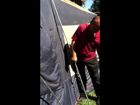 How to assemble 6x10 Greatland Tent & How to assemble 6x10 Greatland Tent - YouTube