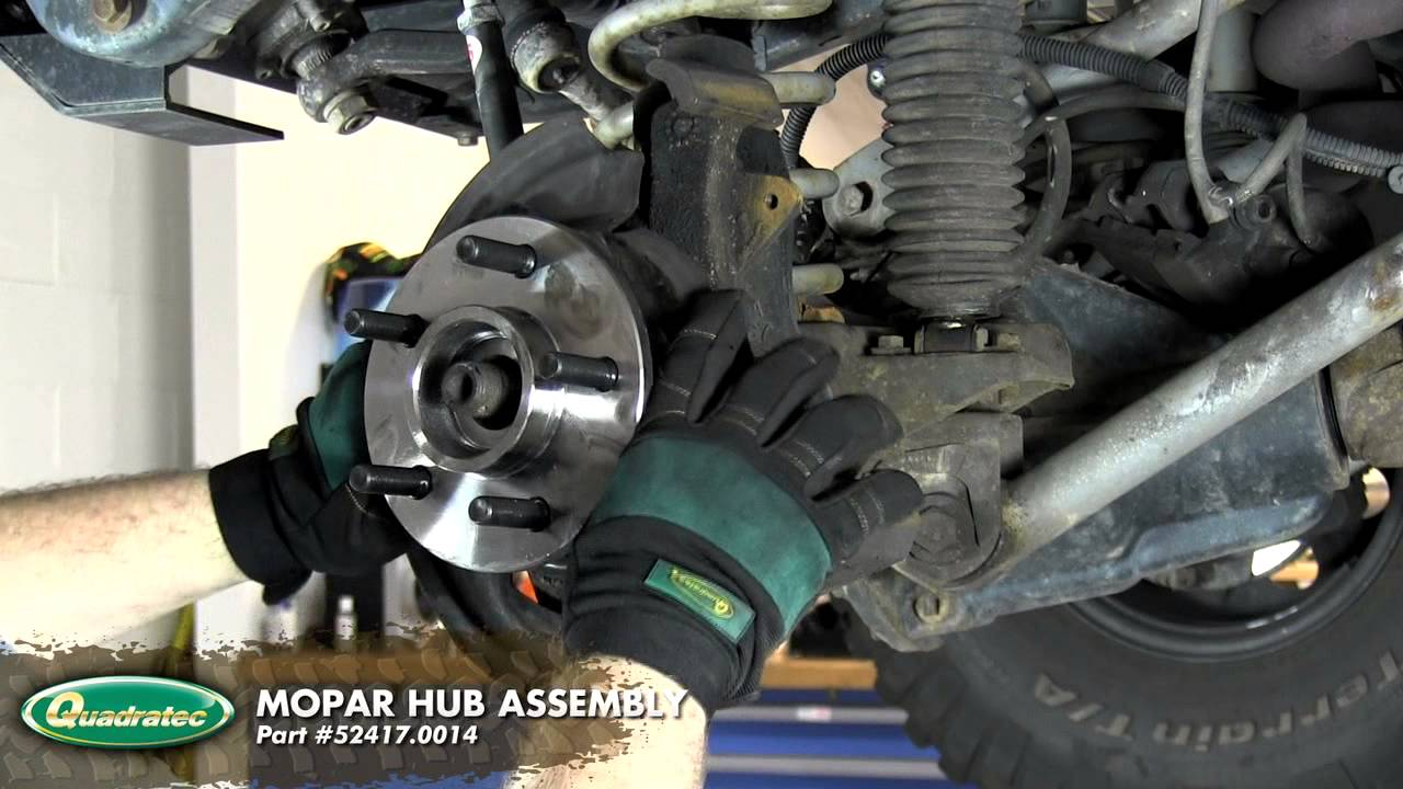 How To Jeep Wrangler 97 06 Tj Hub Replacement Youtube 1997 Engine Diagram