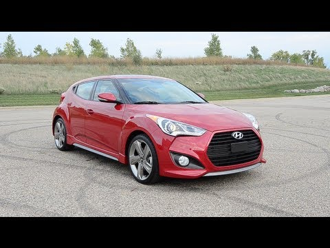2013 Hyundai Veloster Turbo WINDING ROAD POV Test Drive
