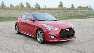 2013 Hyundai Veloster Turbo - WINDING ROAD POV Test Drive