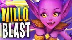 WILLO BLASTFLOWER SCUFFED! | Paladins Gameplay