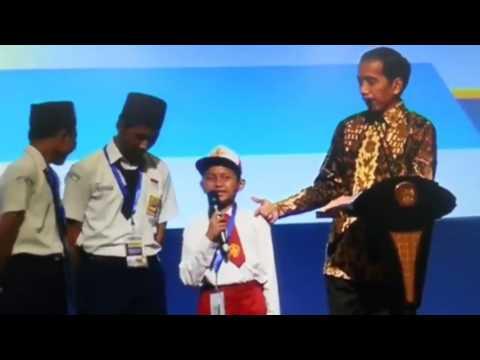 Anak Sd Bilang Ikan Kontol Di Depan Pak Jokowi