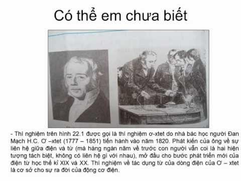 Bai giang chuyen de Vat ly 9 Tot nhat Từ trường