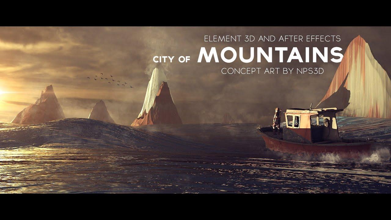 City Within A Mountain Concept Art
