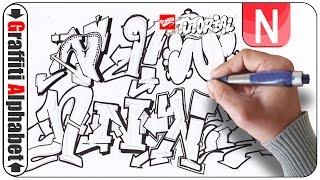 Letter N Graffiti