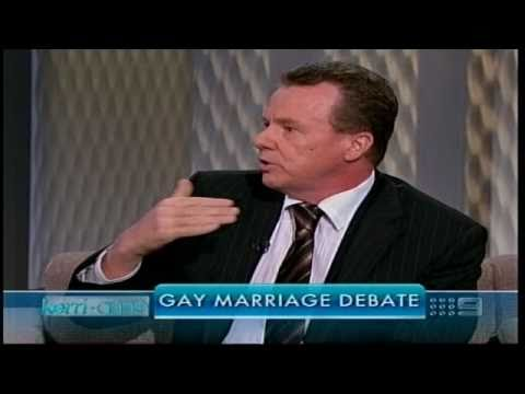 Peter Madden VS gay marraiage debate on Kerry Anne 2.03.2011.m4v