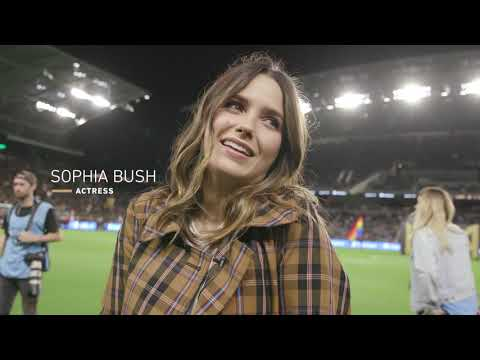Welcome To Banc Of California Stadium, Sophia Bush!