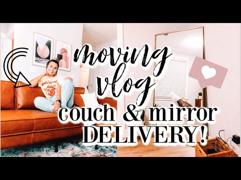 moving-vlog- -my-dream-couch-+-mirror-deliver-&-huge-target-home-essentials-haul!