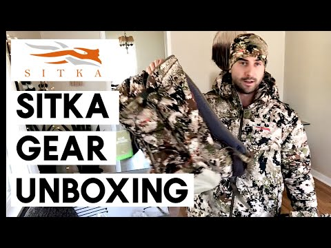 MASSIVE Sitka Gear Haul - Hunting Gear Review