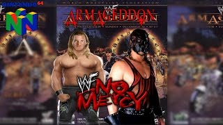 Chris Jericho vs Kane | Armageddon 2000 | WWF NO MERCY (Hard)