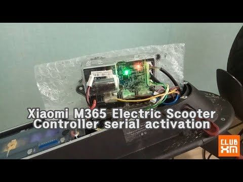 Xaiomi mijia2 M365 new controller serial activation / 샤오미 전동