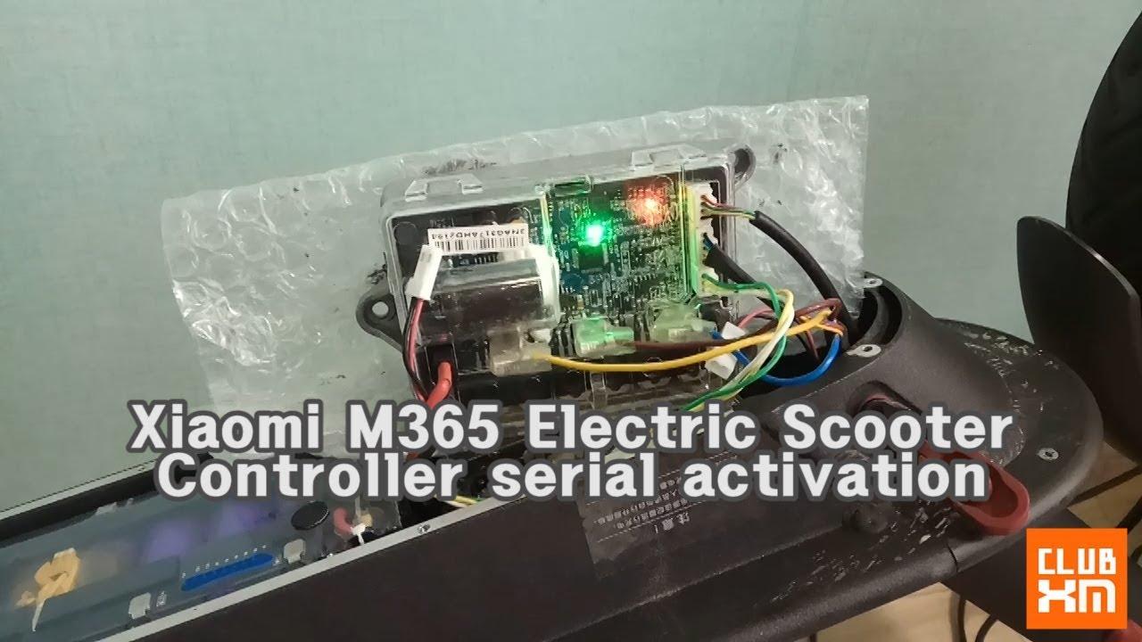 Xaiomi mijia2 M365 new controller serial activation / 샤오미 전동킥보드 미지아2 새로운  컨트롤러 시리얼 활성화