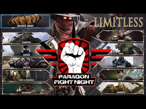 Paragon : Bronze Army vs Team Limitless | Season 2 Tournament