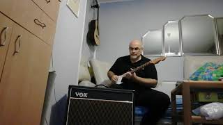 Vox AC15 C1X - top boost chanel