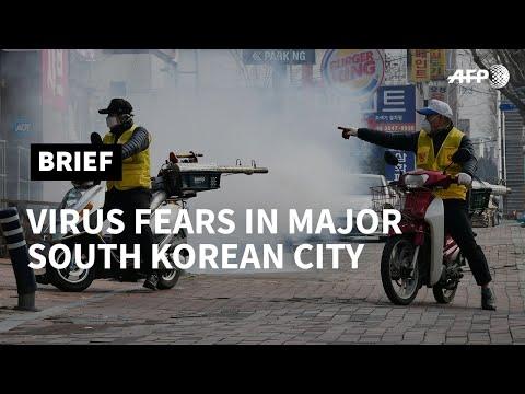 South Korea: 'I'm worried Daegu will become second Wuhan' | AFP