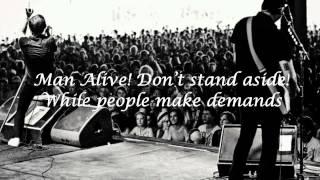 Billy Talent - Man Alive! (Lyrics)