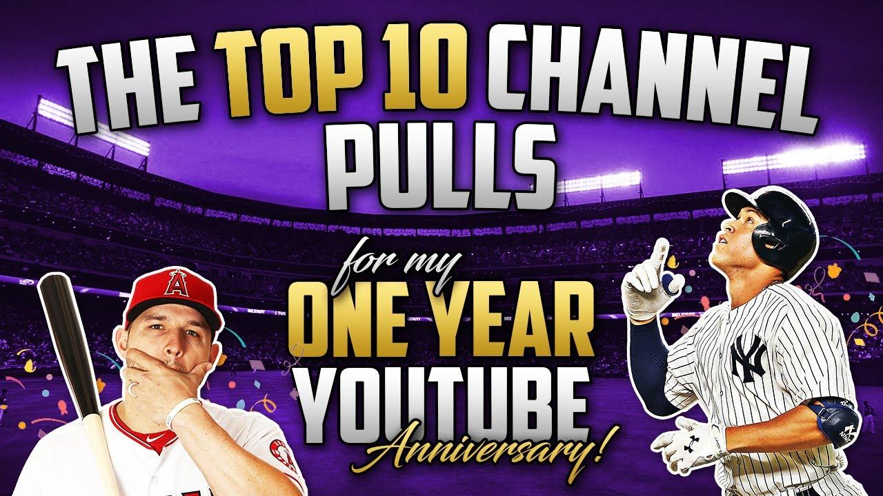 YOUTUBE ANNIVERSARY!! 🎉 Top 10 Countdown