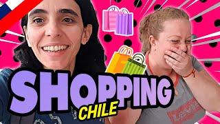 SHOPPING en SANTIAGO DE CHILE Las Condes y Parque Arauco #Dia2
