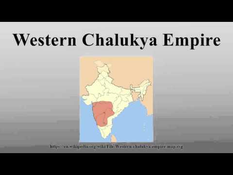 Western Chalukya Empire