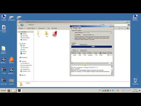 Convert PDF to PostScript