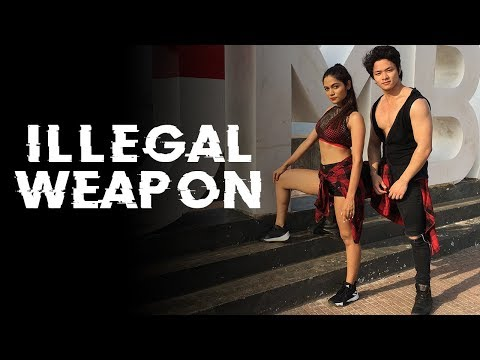 Illegal weapon | Jasmine Sandlas - Garry Sandhu | Dance Cover | LiveToDance With Sonali ft Sarang