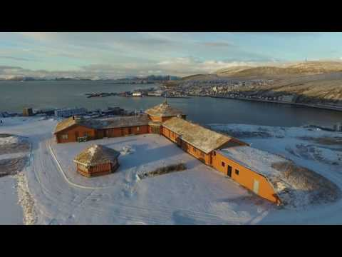 Winter has arrived to Finnmark [HD drone video]