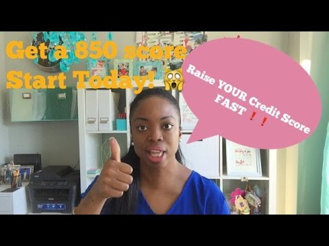 How To Raise Your Credit Score Fast: 850 FICO Score