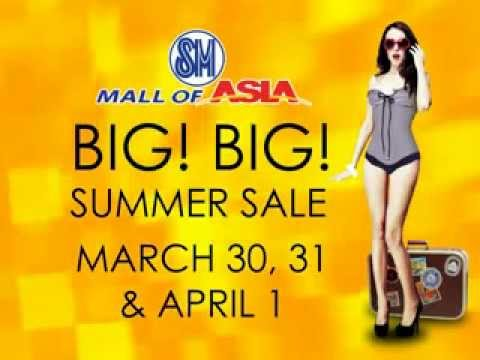 SM Mall of Asia Big! Big! Summer Sale Commercial
