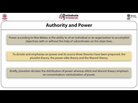 Concept of Power and Authority, Leadership (ANT)
