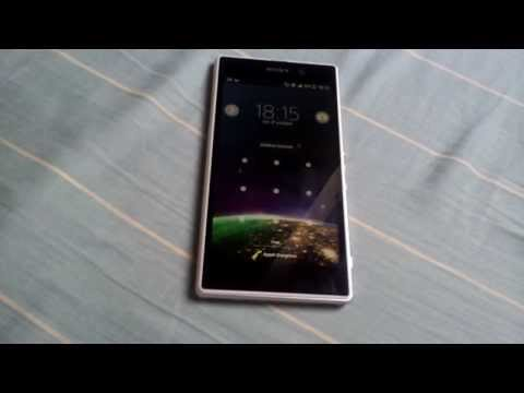 Sony Xperia Z1 touchscreen problem