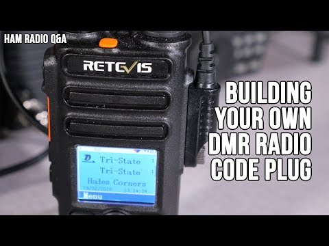 How to Build your own DMR Digital Radio Code Plug - Ham Radi
