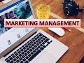 Marketing Management Workshop