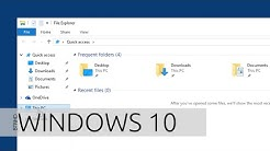 Disable Quick Access in File Explorer on Windows 10