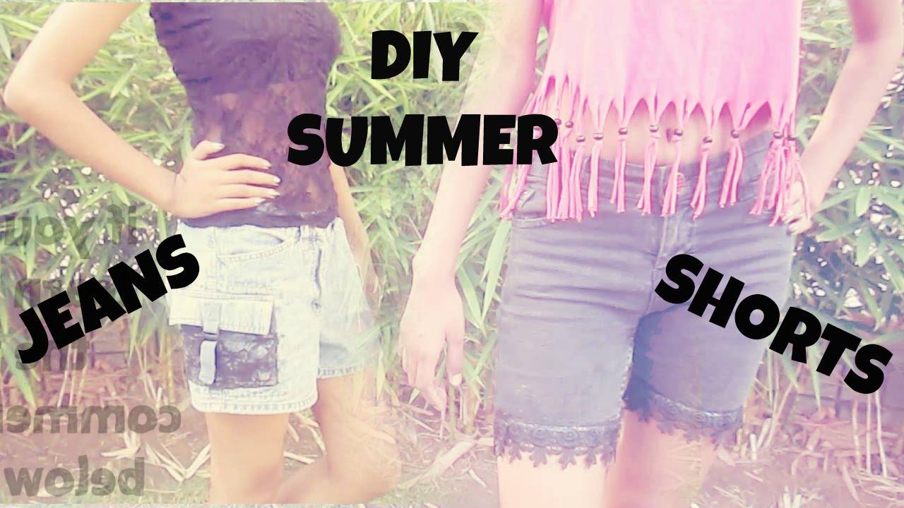 India Summer Tumblr Delightful diy summer shorts + jeans | tumblr inspired | in india - youtube
