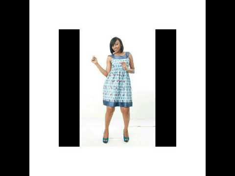 Tendance 2017 des robes courtes en pagne africain - YouTube