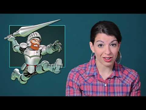 Damsel in Distress  Part 1   Tropes vs Women in Video Games (rus sub)