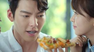 Domino's Seafood Fondue Pizza Tvcf (ft. Kim Woo Bin & Kim So Hyun)
