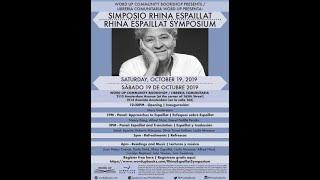 Word Up - 2019 Rhina Espaillat Symposium | Approaches to Espaillat/Enfoques sobre Espaillat
