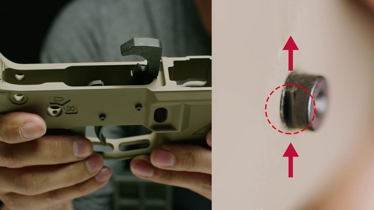 Strike Industries Anti-walk/Anti-rotation Trigger/Hammer Pins