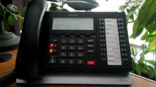 How to Add Voicemail to a Conference Call from Toshiba Telephones ACC Telecom Video