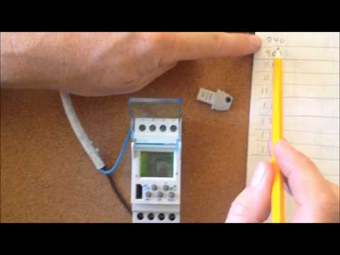 hager emn001 doovi Staircase Wiring Circuit with Timer Air Conditioning Wiring