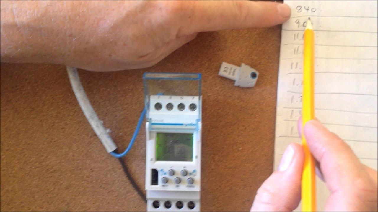 geyser timer wiring diagram 2006 ford escape radio pt 2 how to pulse programme a digital hager eg203e