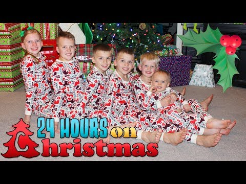 24 Hours With 6 Kids On Christmas Day 2018