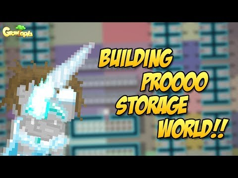 BUILDING PRO STORAGE WORLD FOR 3DL ONLY | Growtopia