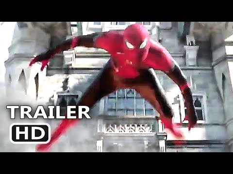 "SPIDER-MAN FAR FROM HOME ""Superhero Landing"" Trailer (NEW 2019) Marvel Movie HD"