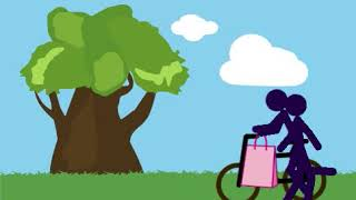Сериал на велосипеде 1 серия