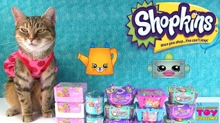 Shopkins  2 Pack Blind Basket Season 1 2 3 4 Food Fair Fashion Spree Opening | PSToyReviews